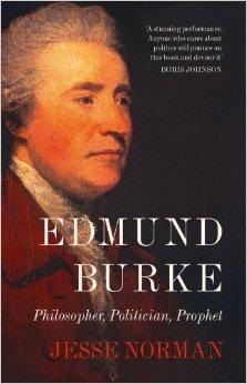 Edmund Burke book front