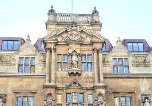 Oriel College Oxford High Street facade